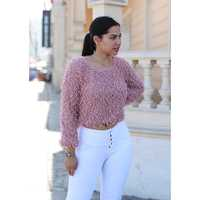 3.20 STORE CROP PELUDO M/LARGA SWEATERS