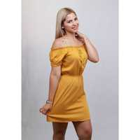 ASHLEY LIGA CINTURA CHALIS VESTIDO LISO