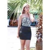 BRASIL V STRAPLE  BODY  ANIMAL PRINT