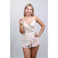 ROMANTIC RAYAS ENTERITO SHORT