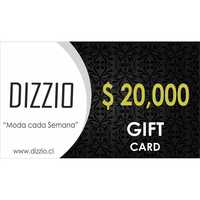 GIFT CARD GIFT CARD $ 20.000
