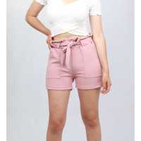 MELODY LAZO SHORT TELA/CHALIS EXCLUSIVO